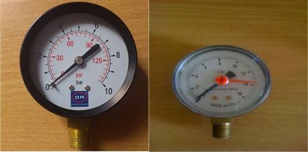 Đồng hồ đo áp lực nước P16 mua ở đâu