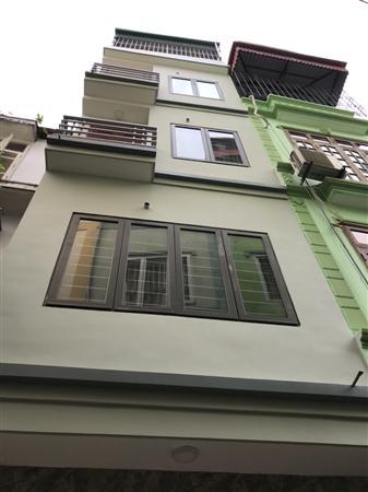Nhà 5 tầng khu phân lô phố Nguyễn An Ninh, mới 100%. Giá 4,0