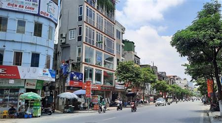 Nhà mặt phố 243 Thanh Nhàn, DTXD 160m2, mặt tiền 5,5m.