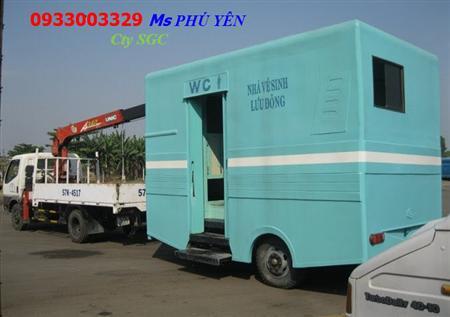 Nhà vệ sinh lưu động Saigon Composite LH-0933003329