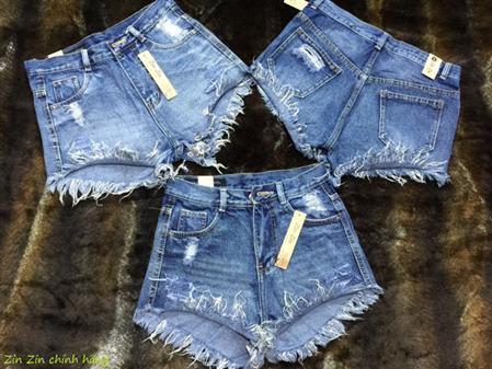 Bán sỉ quần short jeans nữ thời trang 19k