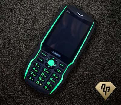 Điện thoại Landrover B36 - Không lo hết pin, siêu chống sốc
