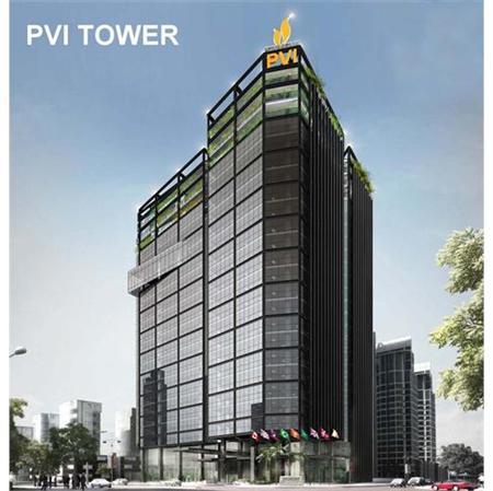 Cho thuê văn phòng hạng A tòa nhà PVI, 168 Trần Thái Tông