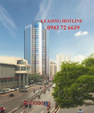 Cho thuê văn phòng hạng A tòa nhà VP Bank Tower 89 Láng Hạ,