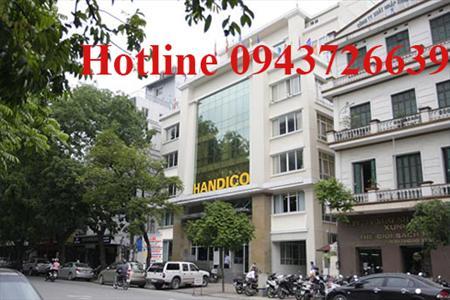Cho thuê văn phòng tại tòa nhà Handico, 34 Hai Bà Trưng