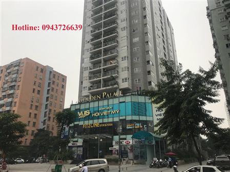 Cho thuê Tòa nhà Golden PalaceLêVăn Lương,Thanh Xuân,Hà Nội