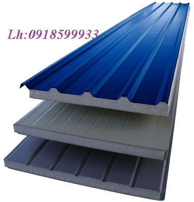 Bán tấm lợp panel EPS, tôn cách nhiệt cho mái nhà