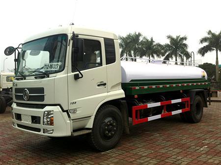 Xe téc chở nước rửa đường tưới cây  9 khối
