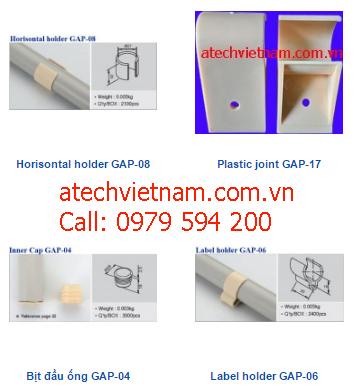 khớp nối nhựa gap 17