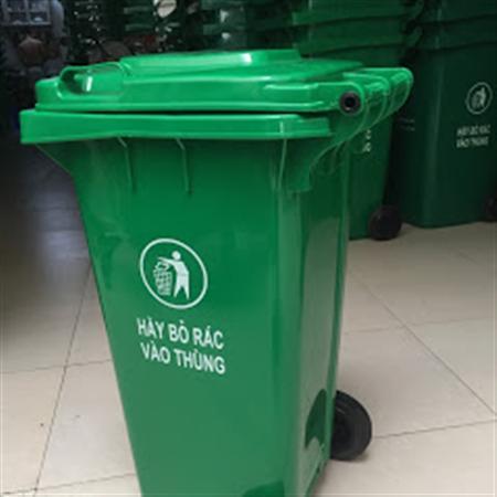 Bán thùng chứa rác thải sinh hoạt dung tích 120 lit