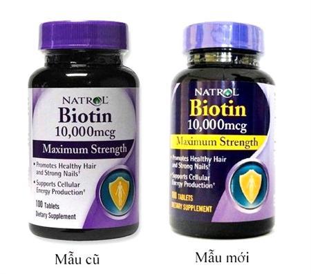 Viên uống Biotin kích mọc tóc được ưa chuộng tại Mỹ giá 140k