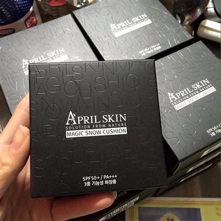 Phấn nước thần thánh April skin Hàn Quốc che phủ 100% 269k