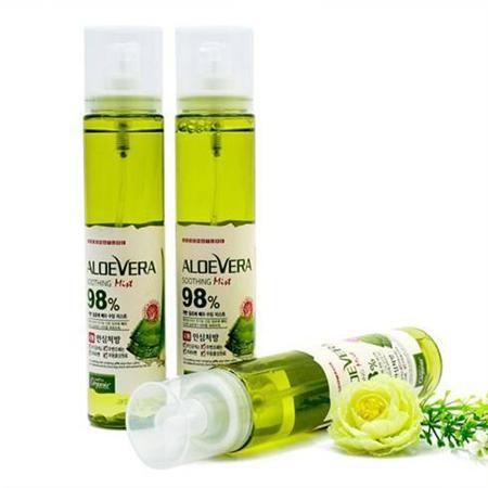 Chuyên sỉ Xịt khoáng lô hội dưỡng ẩm da Aloevera 98% giá 57k