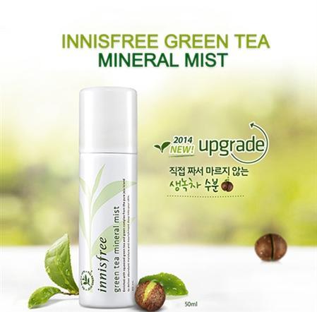 Sỉ lẻ Xịt khoáng trà xanh Innisfree Green Tea 50ml giá 86k