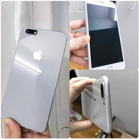 4Tr7=>Iphone 6S Plus-32G-Lock-Lên Vỏ 8Plus-Trắng.Vtay nhạy
