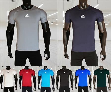 Bán áo thun thể thao nam, áo thun lạnh logo Adidas