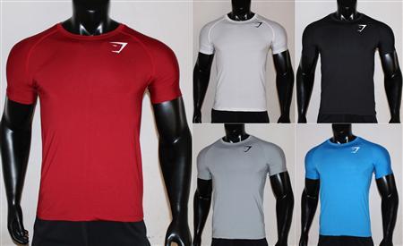 Bán sỉ lẻ áo thun lạnh, áo thể thao nam logo Gymshark giá rẻ