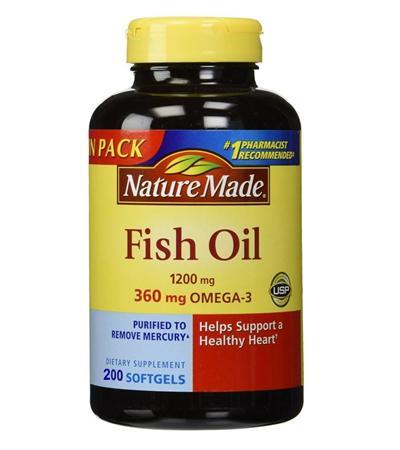 Dầu Cá Omega 3 - 200 Viên 100% Của Mỹ