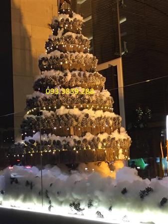 Bông gòn trang trí Noel