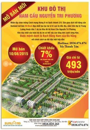 Chào Bán Block Mới CK 7%, VT Đẹp Tại Nam Nguyễn Tri Phương