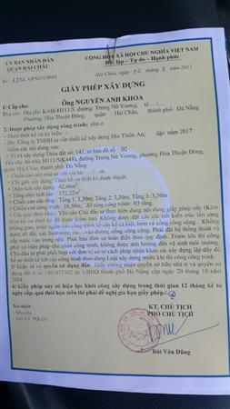 Cần Bán Lô Đất kiệt 448 Trưng Nữ Vương, Đà Nẵng