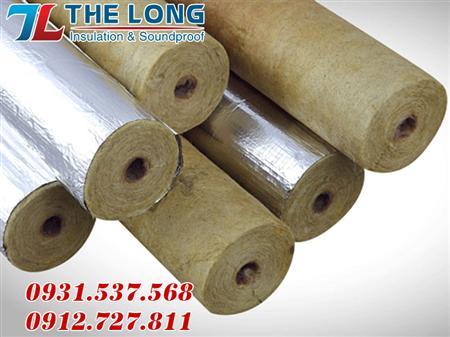 ống rockwool định hình, ống  bảo ôn cách nhiệt