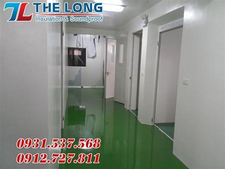 Cung cấp tấm panel cách nhiệt,thi công panel phòng sạch