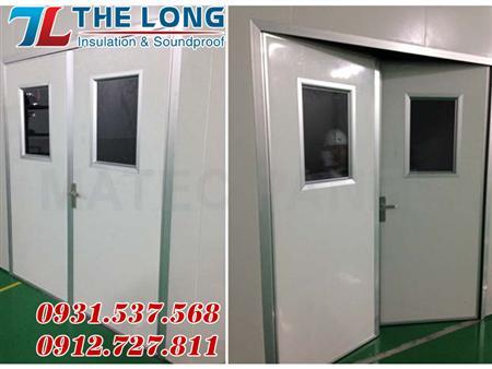 Phụ Kiên Nhôm Phòng Sạch, phụ kiện cửa panel phòng sạch