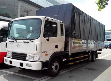 Xe tải Hyundai HD210 3 chân, 13,5 tấn tại Hà Nội