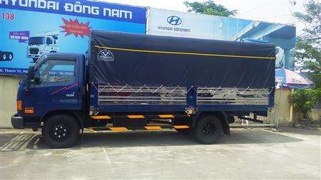 Hyundai HD99 thùng bạt Inox 6.5 tấn tại Hà Nội giá rẻ