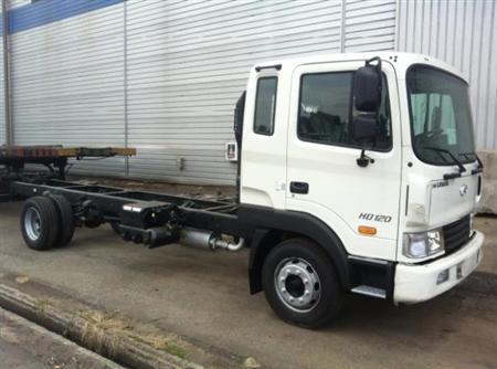 Xe tải Hyundai HD120 5 tấn nhập khẩu, giao xe ngay giá tốt n