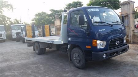 Xe cứu hộ Hyundai HD99, 5.4 tấn, sàn trượt, càng kéo
