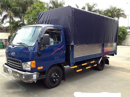 Hyundai HD88 thùng bạt inox tải trọng 5.1 tấn Tel:0981032808