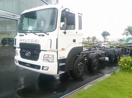 Hyundai HD360 5 chân 20,5 tấn tại Hà Nội, Tel: 0981 032 808