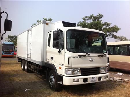 Xe tải thùng Đông lạnh 13,5 tấn Hyundai HD210, giá tốt nhất
