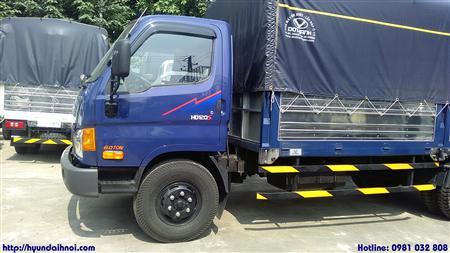 Xe tải Hyundai HD120S tải trọng 8 tấn trợ lực phanh hơi