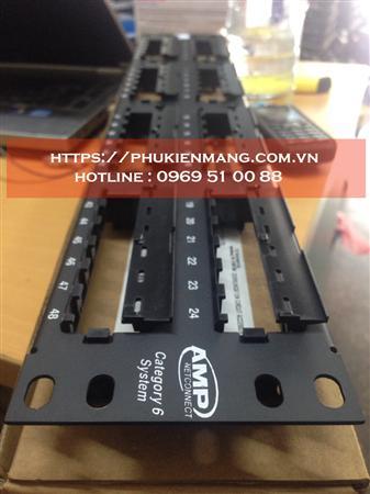 Thanh đấu nối mạng 48 Cổng,Patch panel 24 cổng Cat6 commscop