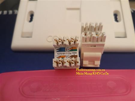 Phiến thoại 10 đôi,Thanh đấu nối cáp mạng patch panel 24 C6