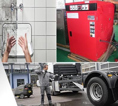 Spro - Máy phun rửa nước nóng cao áp ở đâu giá rẻ nhất