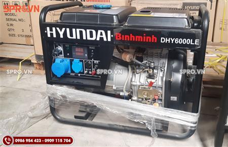 Địa chỉ bán máy phát điện chạy dầu Hyundai 5.5kw DH6000LE