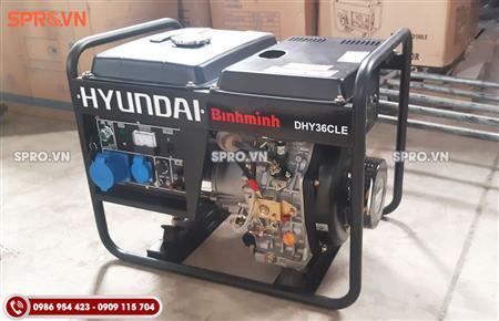 Bán máy phát điện chạy dầu diesel Hyundai 3kw giá rẻ