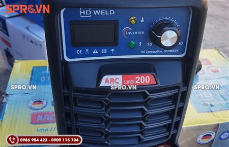 Địa chỉ bán máy hàn que điện tử HD Weld ARC Super 200
