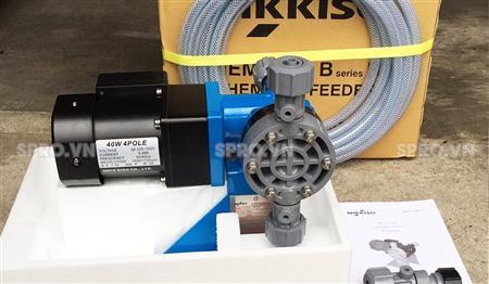 Bán máy bơm định lượng điện tử Nikkiso nhập khẩu từ Đài Loan