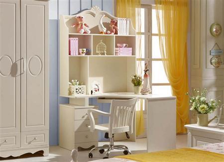 Trang trí góc học tập cho con với bàn ghế học sinh giá rẻ .