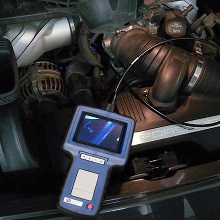 Máy nội soi đường ống, động cơ model VE340N