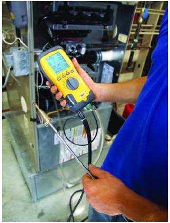 Máy đo khí thải, đo khí độc, khí xăng dầu...model IMR1050X
