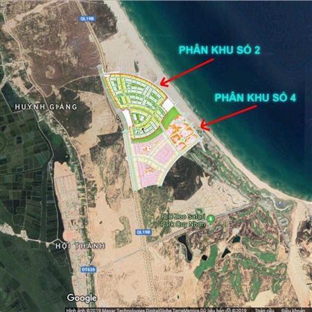 Đầu tư đất nền nằm ngay mặt biển, Nhơn Hội New City . bên cạ