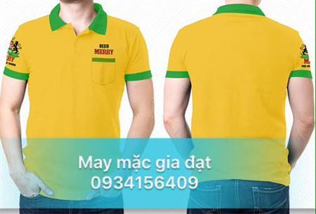áo thun cổ trụ, áo thun đồng phục công ty