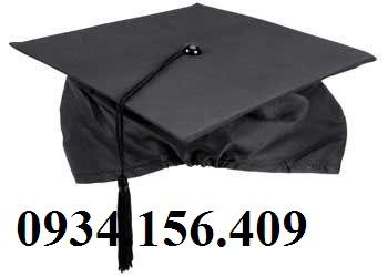 may nón tốt nghiệp, nón cử nhân, nón thạc sĩ tiến sĩ