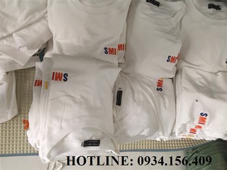 nhận in và thêu áo thun đồng phục công ty 0934156409